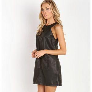 Bb Dakota iggy dress black size small